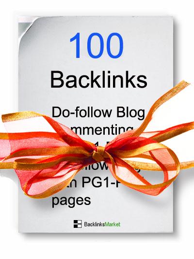 100 High page Rank Dofollow Backlinks